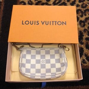 Louis Vuitton Damier Azur Pouchette Mini